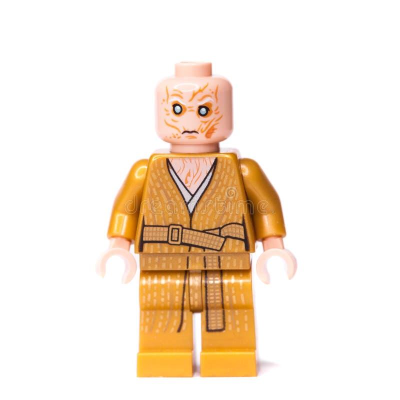 RUSSE, SAMARA, AM 16. JANUAR 2018 Erbauer Lego Star Wars E stockfoto