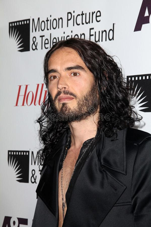 Russell Brand royalty-vrije stock afbeelding