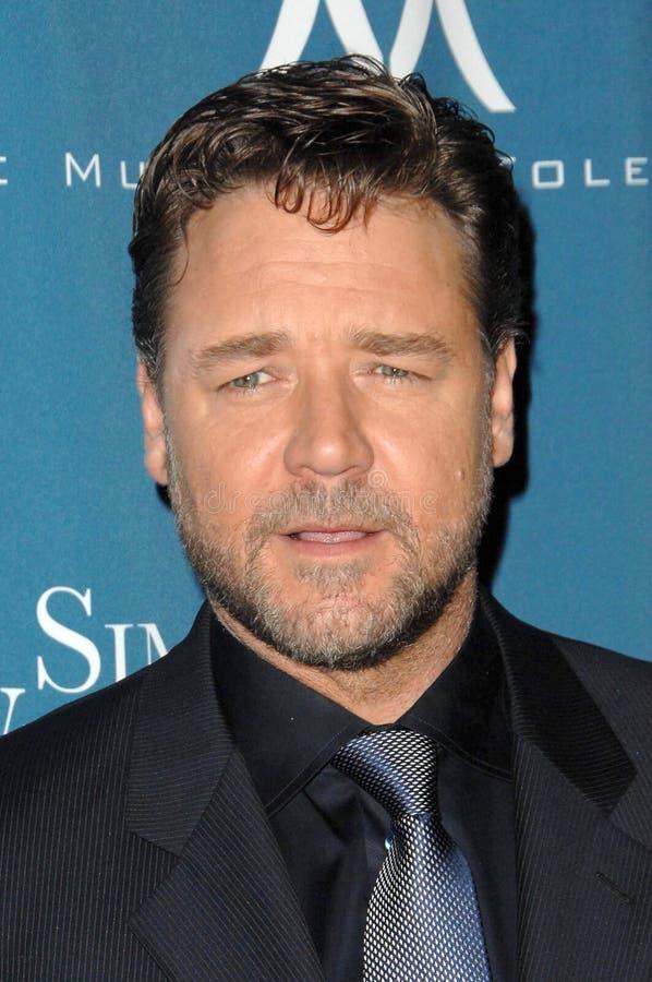 Russell Crowe foto de archivo