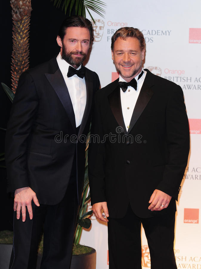 Russell Crowe, Hugh Jackman Editorial Photography