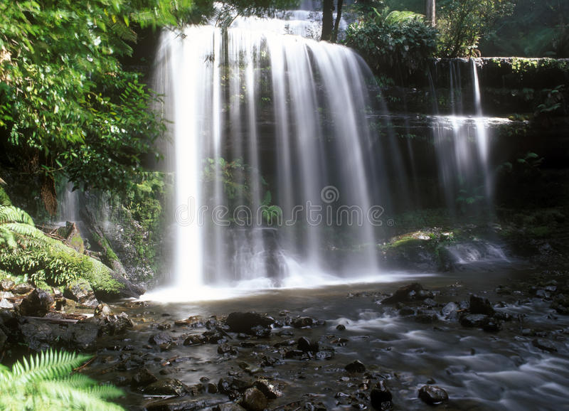 Download Russell Falls stock photo. Image of destinations, park - 10379144