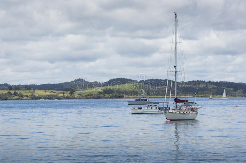 Russell near Paihia, Bay of Islands, New Zealand.  royalty free stock photography