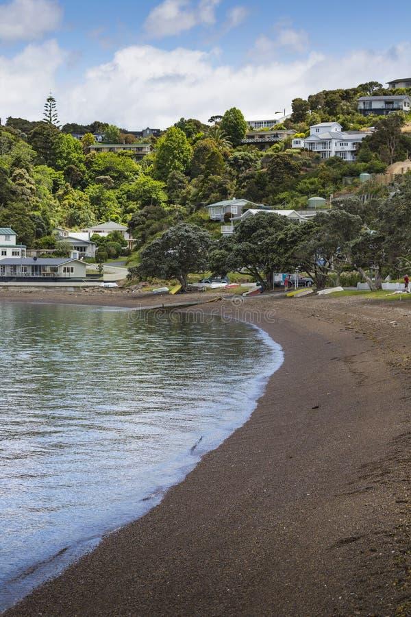 Russell near Paihia, Bay of Islands, New Zealand.  stock photos