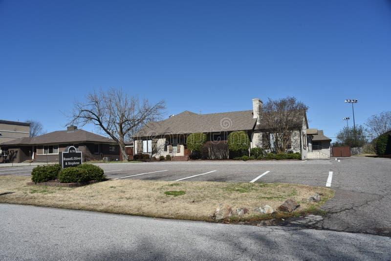 Russell, Oliver en Stephens Law Firm, Memphis, TN stock afbeeldingen