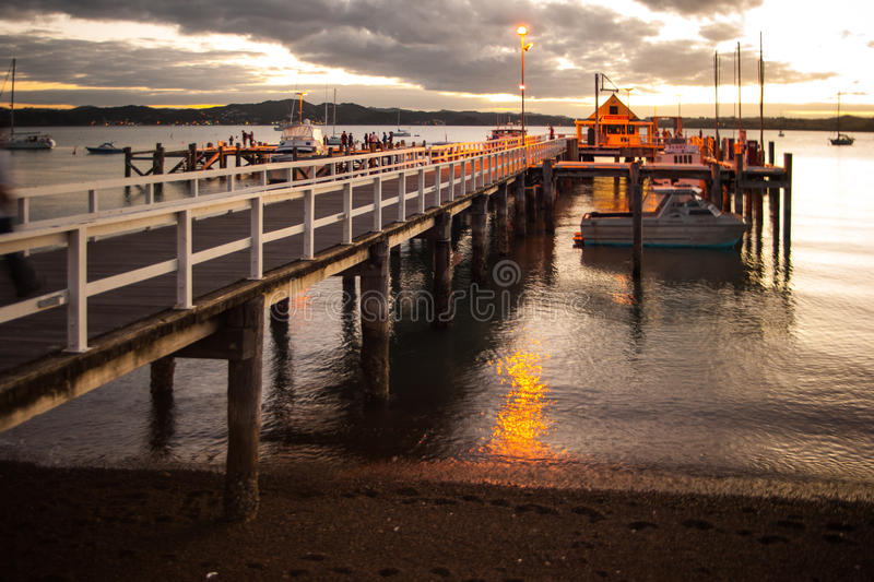 Russell Pier stock photo