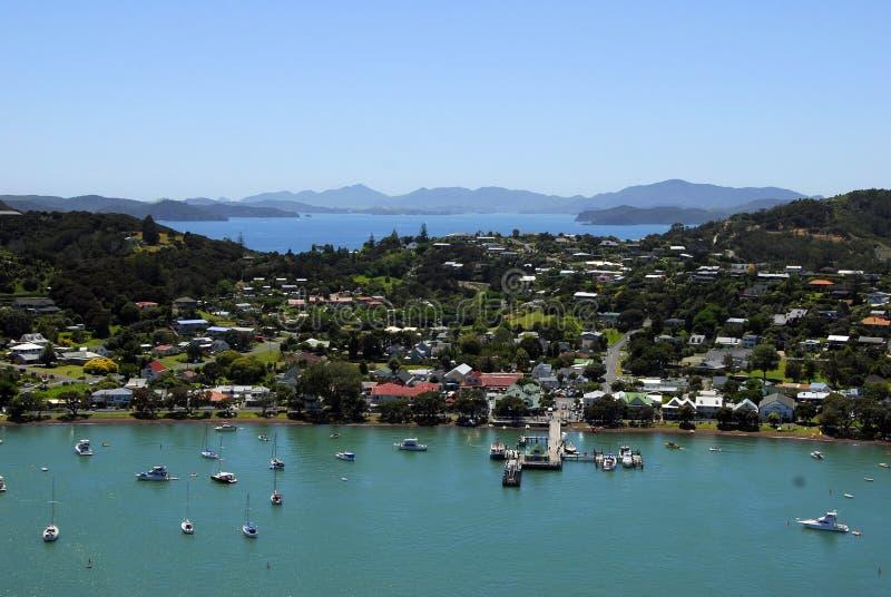 Russell, Schacht von Inseln, Neuseeland stockfotografie