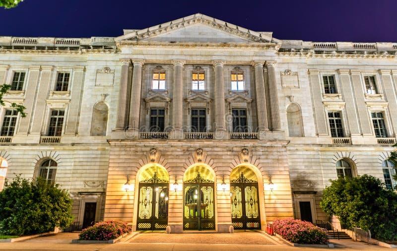 Russell Senate Office Building en Washington DC fotografía de archivo