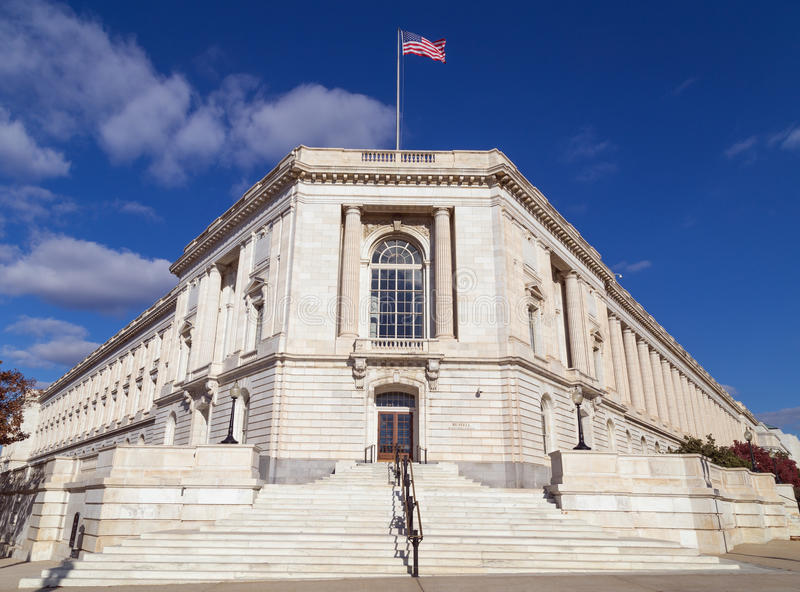 Russell Senate Office Building royalty free stock photos