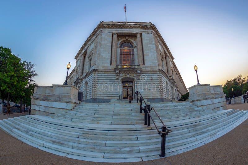 Russell Senate Office Building, Washington DC, EUA fotografia de stock royalty free