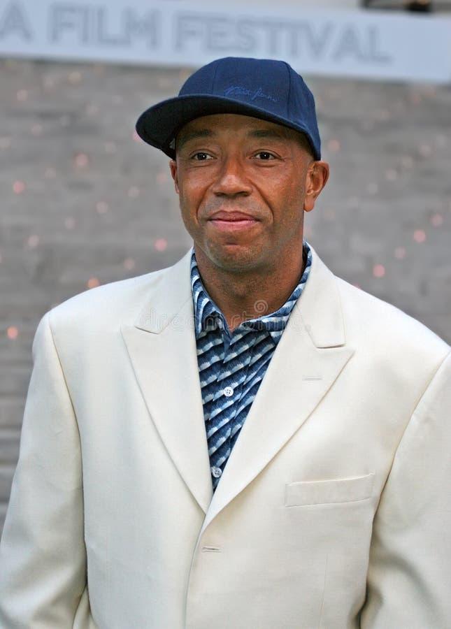 Russell Simmons foto de archivo