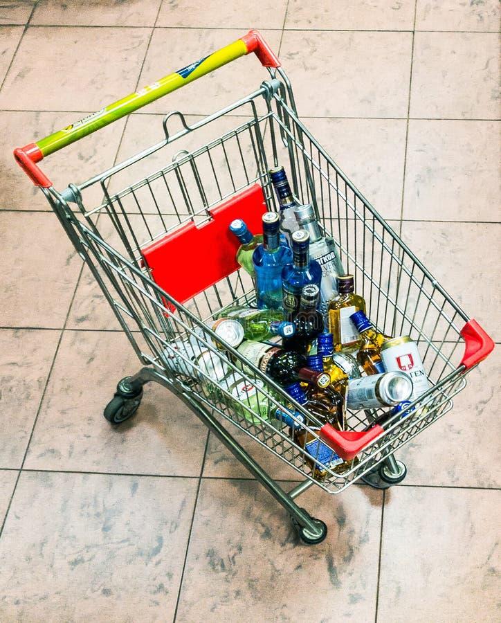 Alcohol royalty free stock photo