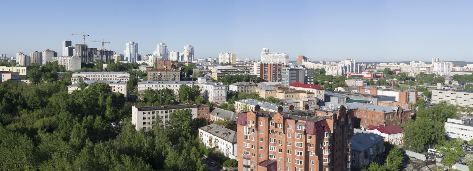 Russia. City Ekaterinburg. royalty free stock photos