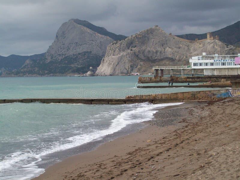 Russia. Crimea. Sudak. stock photography