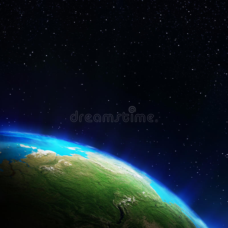 Download Russia stock illustration. Image of astronomy, glow, earth - 42997288