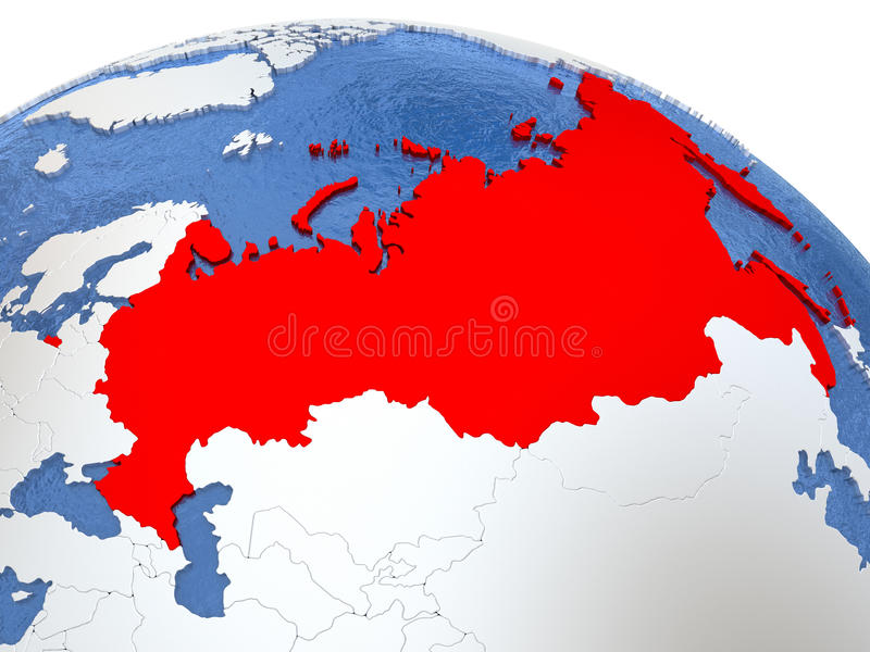 Russia on globe stock illustration image of country 78681743 download russia on globe stock illustration image of country 78681743 gumiabroncs Images