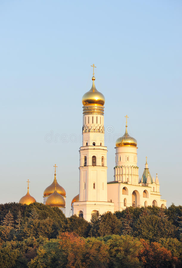 Download Russia. Gold Domes Of Moscow Kremlin. Stock Photo - Image: 13485196
