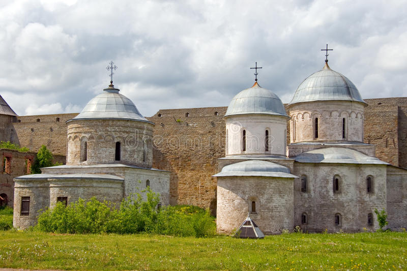 Russia. Ivangorod. Travel in Russia. Russian fortress of Ivangorod stock images