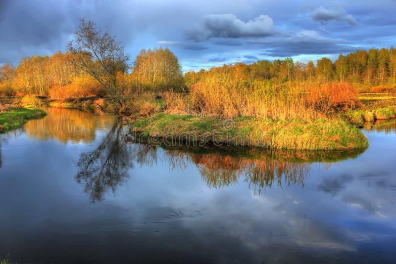 russia krajobrazowa wiosna fotografia royalty free