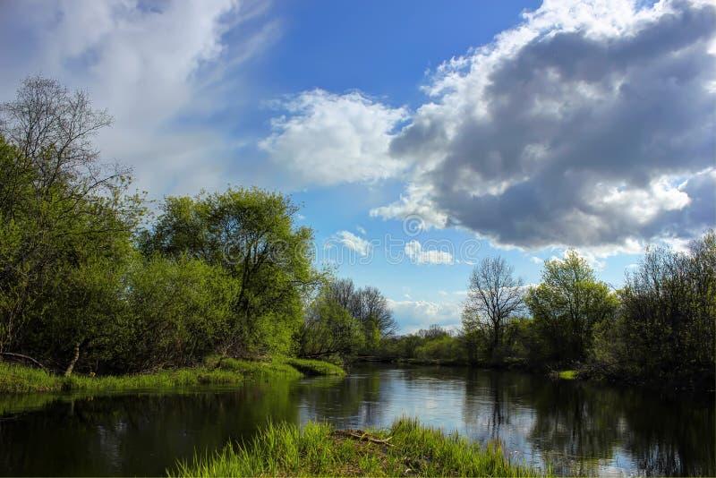 russia krajobrazowa wiosna obraz royalty free
