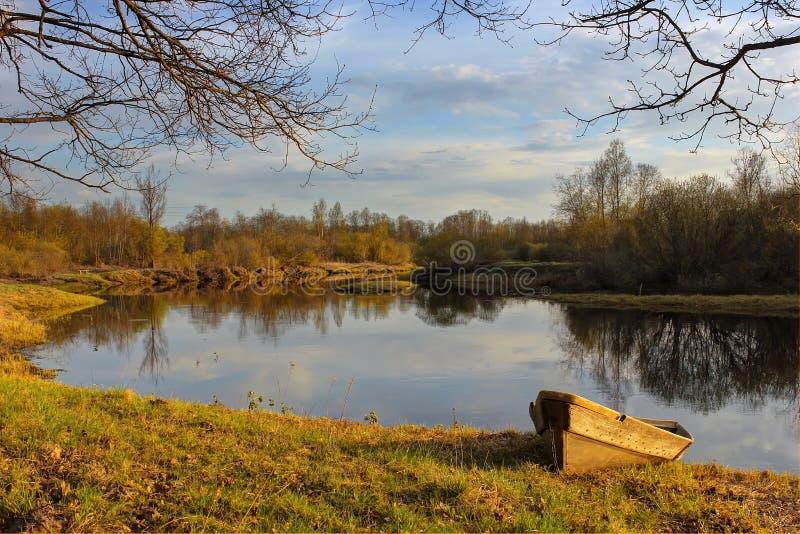 russia krajobrazowa wiosna fotografia stock