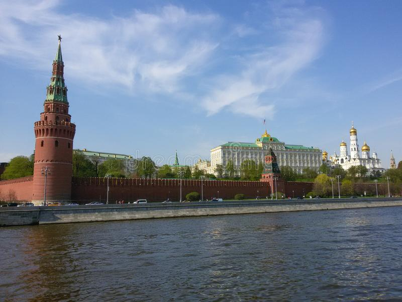 Russia the Kremlin royalty free stock photography