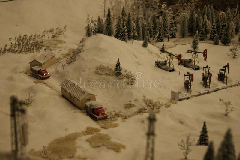 Russia in miniature. stock photos