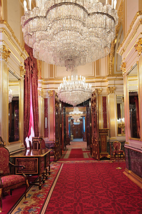 The Luxurious Royal Suite Stock Photos