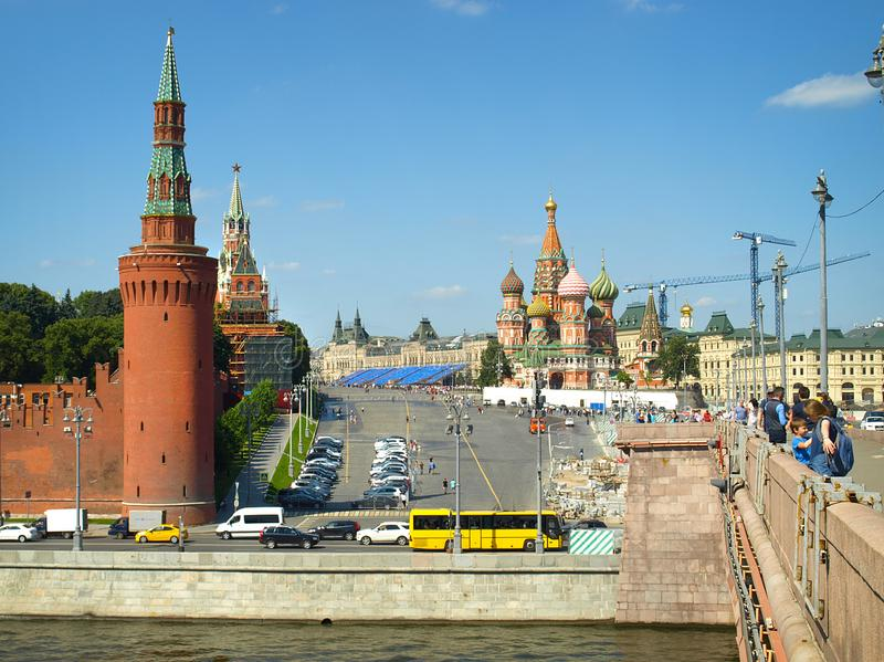 Russia. Moscow. royalty free stock photography