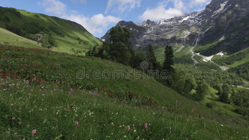 Russia Mountains royalty free stock photo