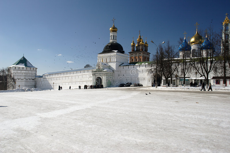 Russia. Seriev Posad stock photos