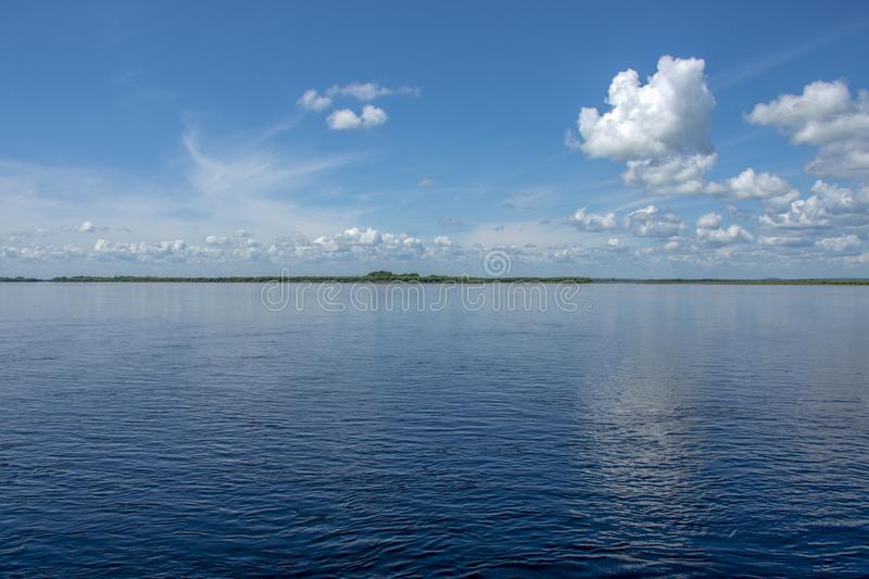 Sikachi-Alyan. View of the Amur river. Russia. Sikachi-Alyan. View of the Amur river royalty free stock photo