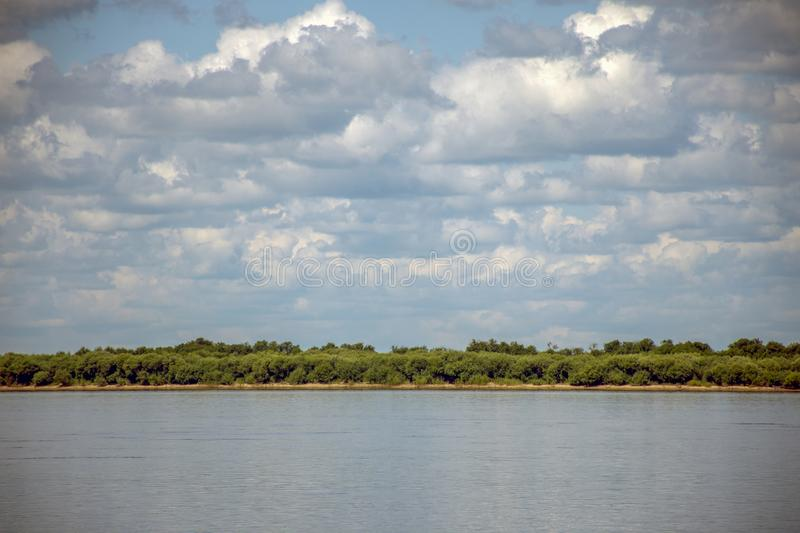 Sikachi-Alyan. View of the Amur river. Russia. Sikachi-Alyan. View of the Amur river stock photos