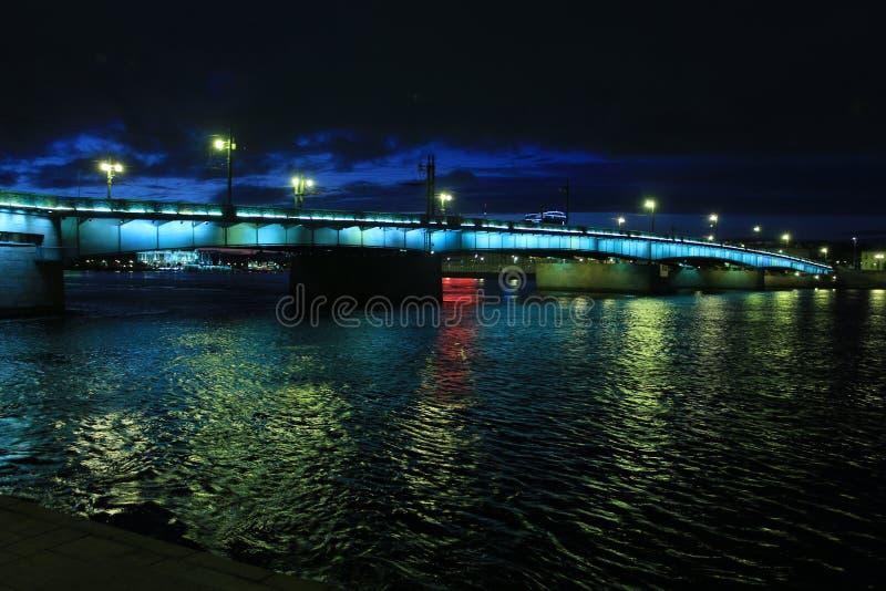 Russia, St. Petersburg, Liteyny Bridge stock photography