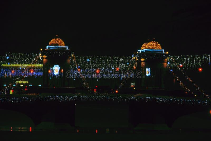 Russia, St. Petersburg, Lomonosov Bridge stock photo