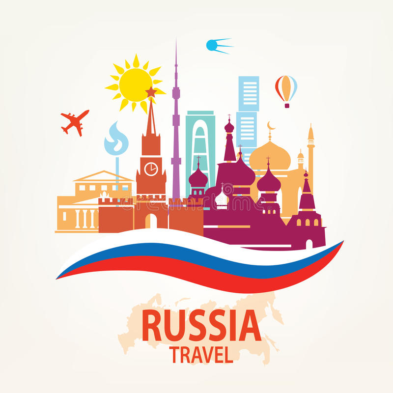 Free Russia Travel Background Stock Photo - 70997490