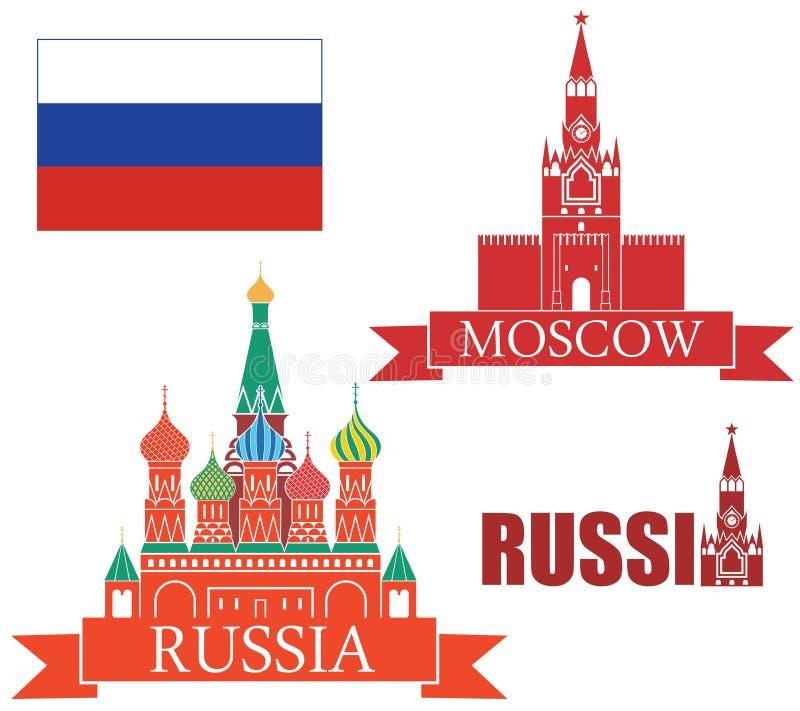Russia. Vector illustration (EPS 10 royalty free illustration