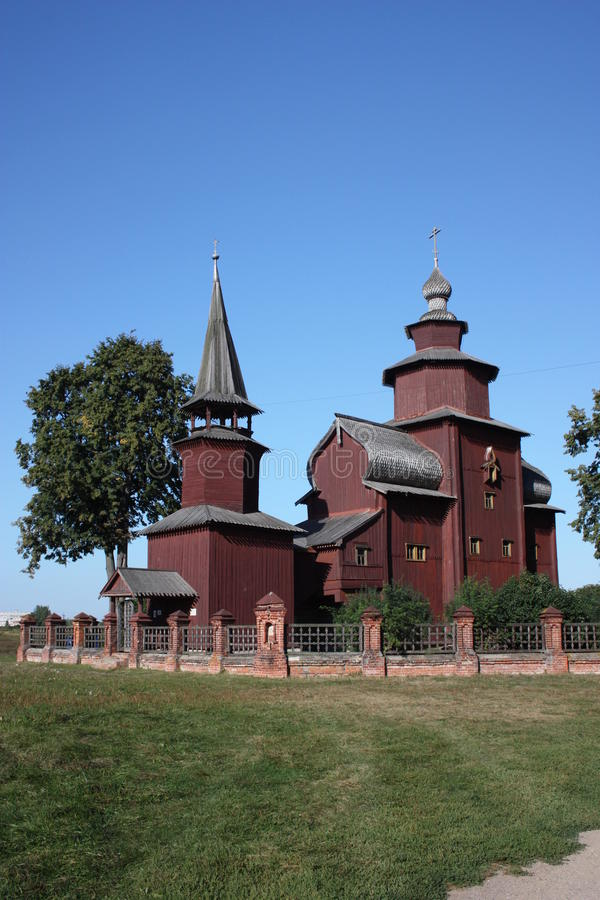 Free Russia. Wooden Church Of St. John The Divine Stock Photo - 20862470