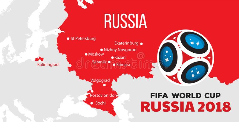 Russia world cup 2018 stock illustration illustration of geography download russia world cup 2018 stock illustration illustration of geography 112742919 gumiabroncs Choice Image