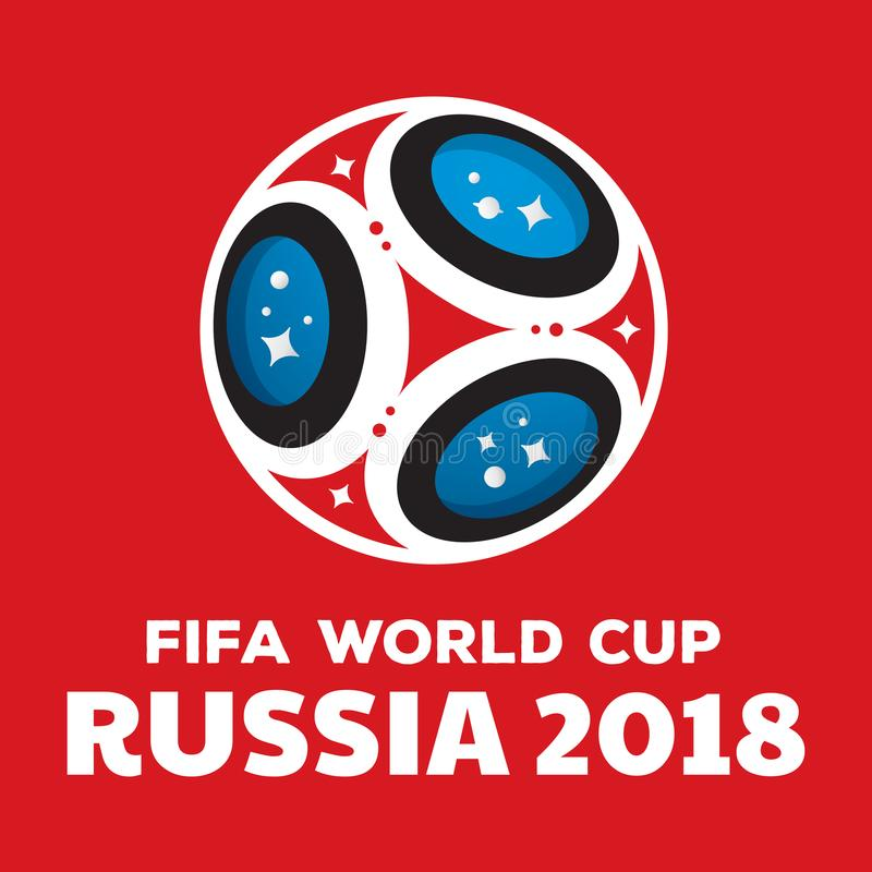Russia world cup 2018 royalty free stock photo