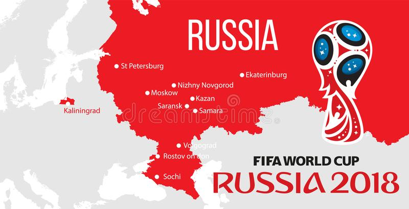 Russia world cup 2018 editorial stock photo illustration of download russia world cup 2018 editorial stock photo illustration of continent 111150453 gumiabroncs Images