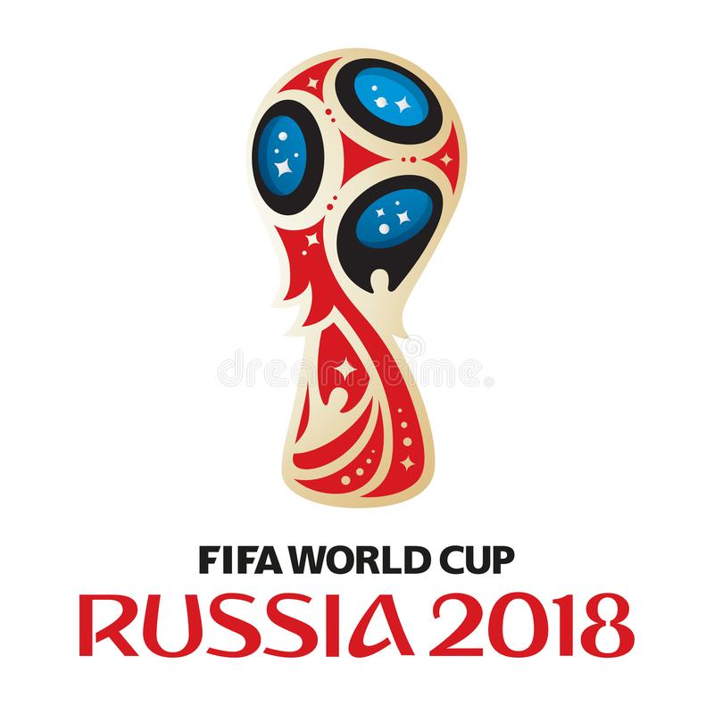 Russia world cup 2018 royalty free stock image