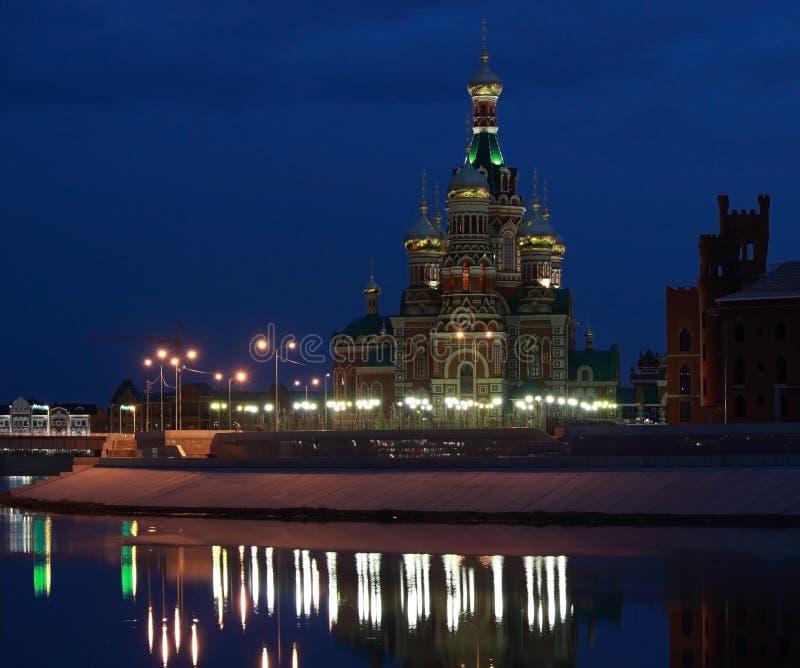 Russia, Yoshkar-Ola, tourism in Russia stock images