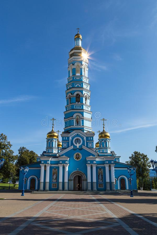 Russian сhristian church royalty free stock photography