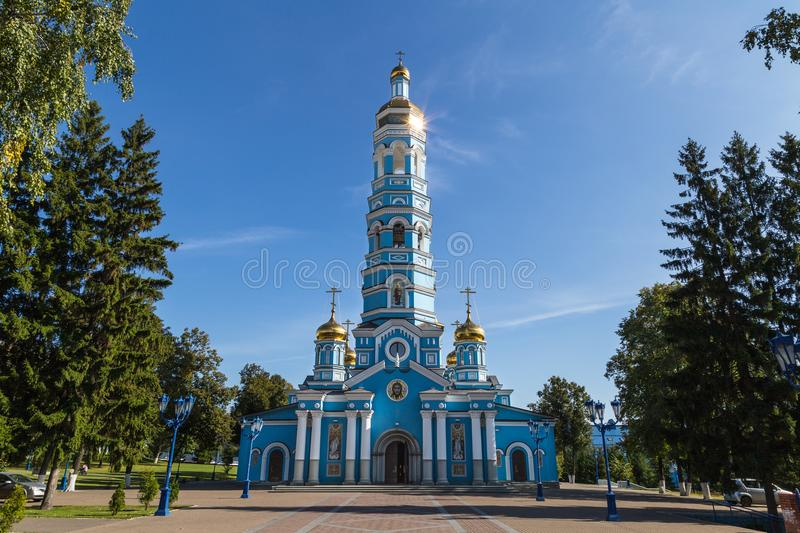 Russian сhristian church stock photo
