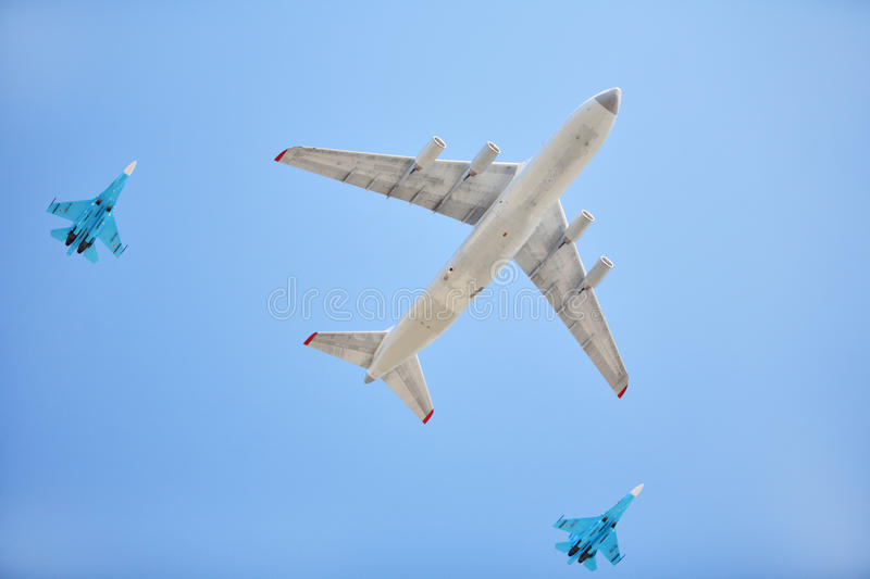 Download Russian Air Force Airplanes Stock Photo - Image: 11209230