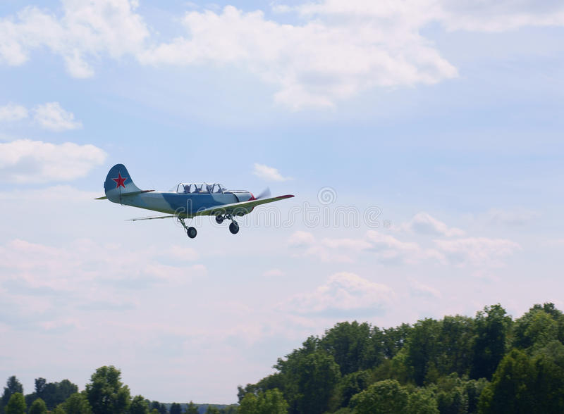 Download Russian airplane take-off stock photo. Image of aircraft - 14517360