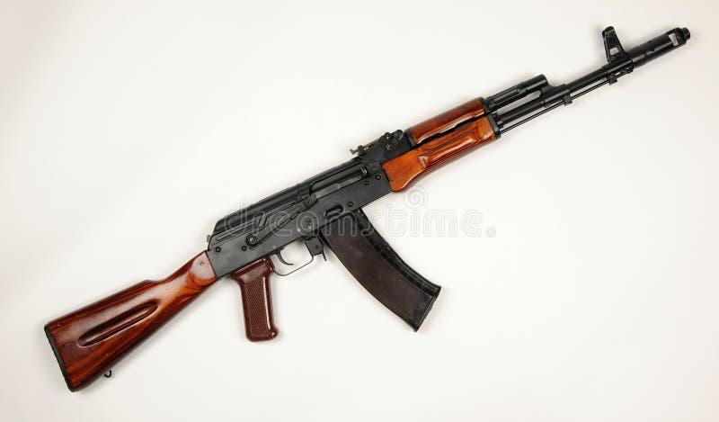 Russian AK74 assault rifle royalty free stock photo