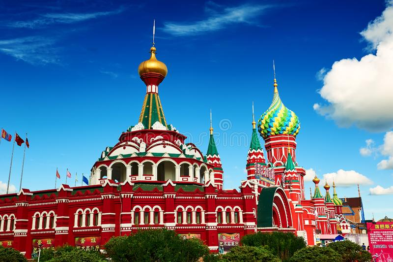 The russian architectures stock photo