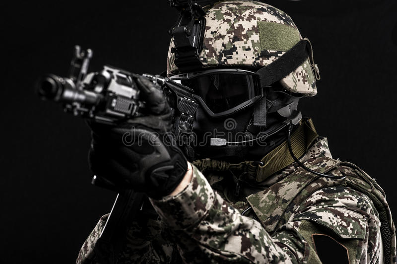 Russian armed forces royalty free stock photos