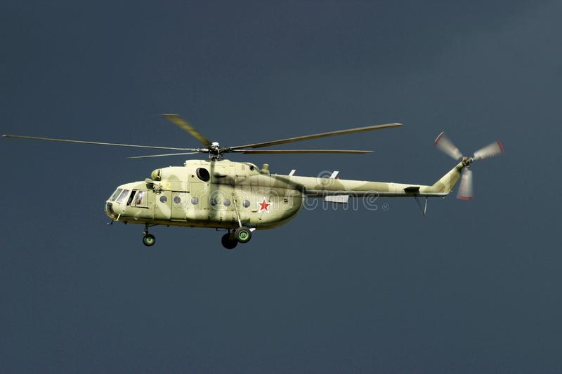 Download A Russian Army Transport Helicopter Stock Photo - Image: 4630790